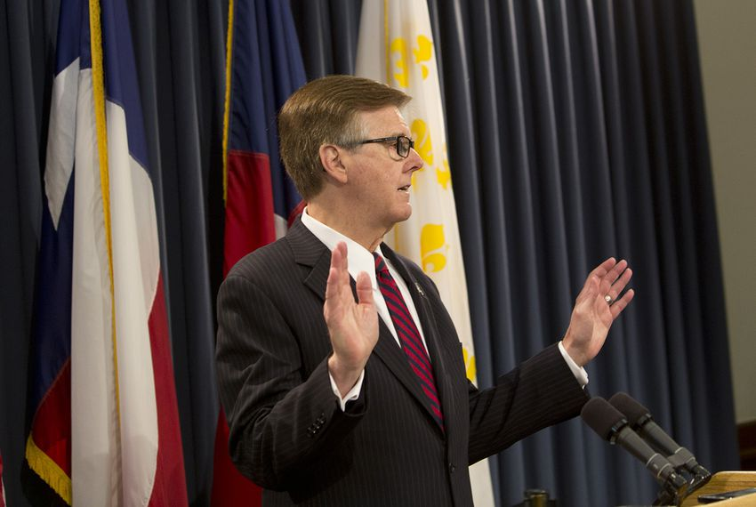 "At a May 17, 2017, news conference, Lt. Gov. Dan Patrick told reporters that the House had to pass two items — property tax reform and the ""bathroom bill"" — or he'd look to force a special session."