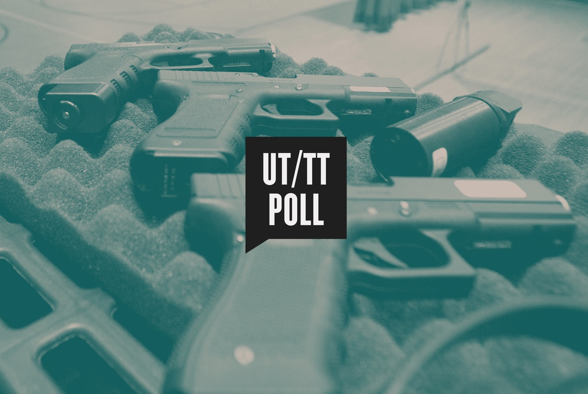 Support for background checks on all gun sales remains high, UT/TT Poll finds