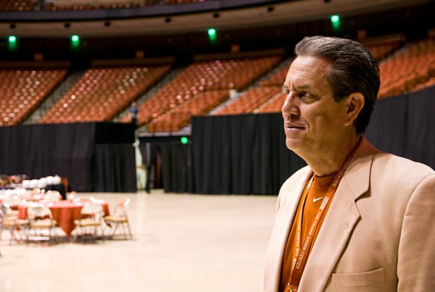 John Graham, director of UT's Frank Erwin Center.