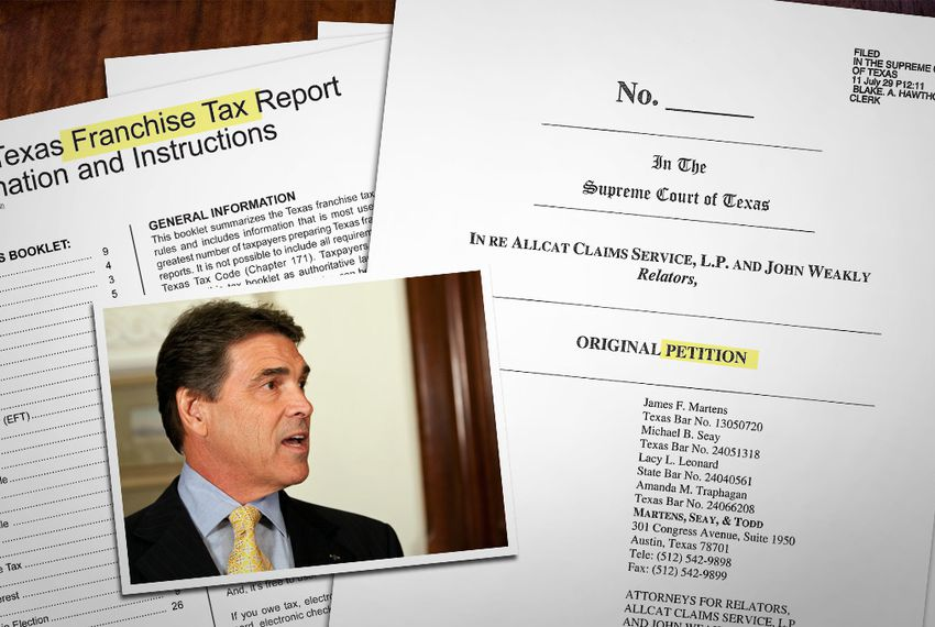 Suit Alleges Perry Approved Unconstitutional Income Tax The Texas