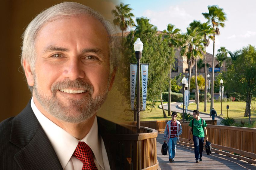 Guy Bailey, president of the new University of Texas-Rio Grande Valley.