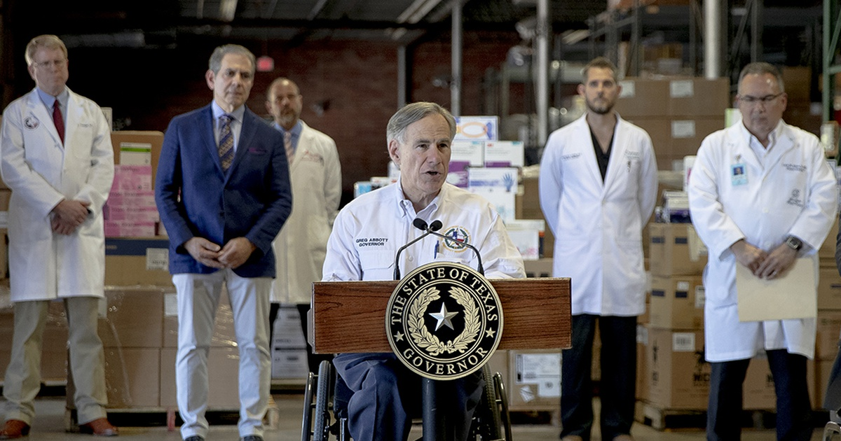 Senate passes bill to curb Texas governor's power to shut down state for extended time during emergency