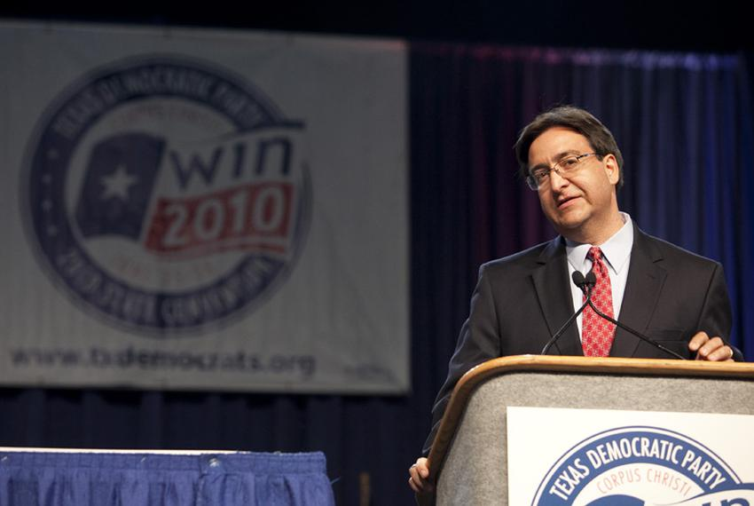 State Rep. Pete Gallego, D-Alpine, at the 2010 Texas Democratic convention in Corpus Christi, Tex. on June 26.