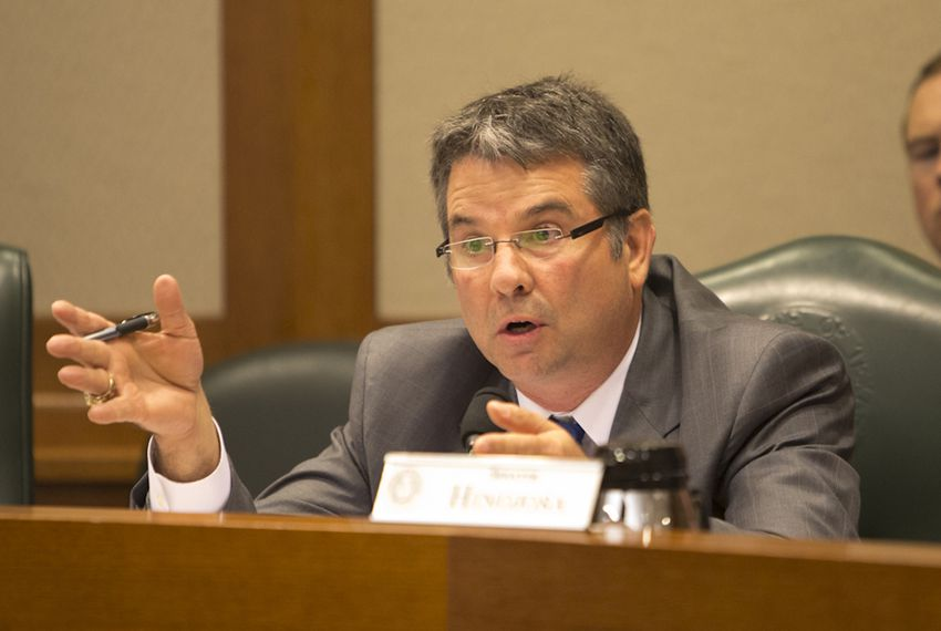 Sen. Charles Perry R-Lubbock during a September 22 Criminal Justice Committee