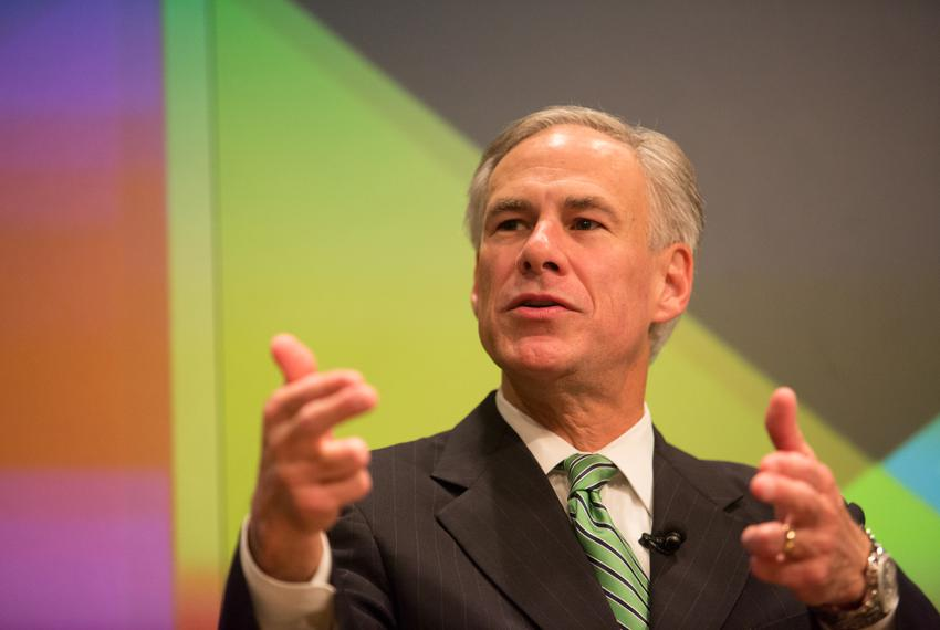 Ross Ramsey, Executive Editor of The Texas Tribune, speaks with Texas Attorney General Greg Abbott during a one-on-one sessi…