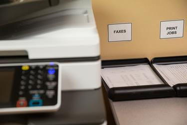 Northeast Texas Public Health District, which consists of seven counties in northeast Texas, processes their COVID-19 records and cases through multiple methods, including faxes. Sept. 22, 2020.