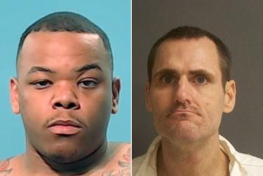 Former prison Sgt. Lou Joffrion, left, was tried for aggravated assault after the death of inmate David Witt.