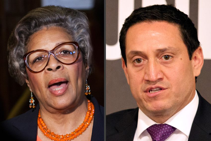 State Rep. Senfronia Thompson, D-Houston, and state Rep. Trey Martinez Fischer, D-San Antonio.