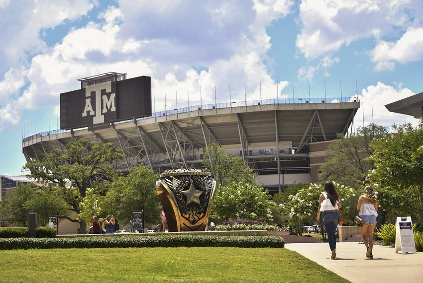 The Texas A&M University campus on June 15, 2020 in College Station.