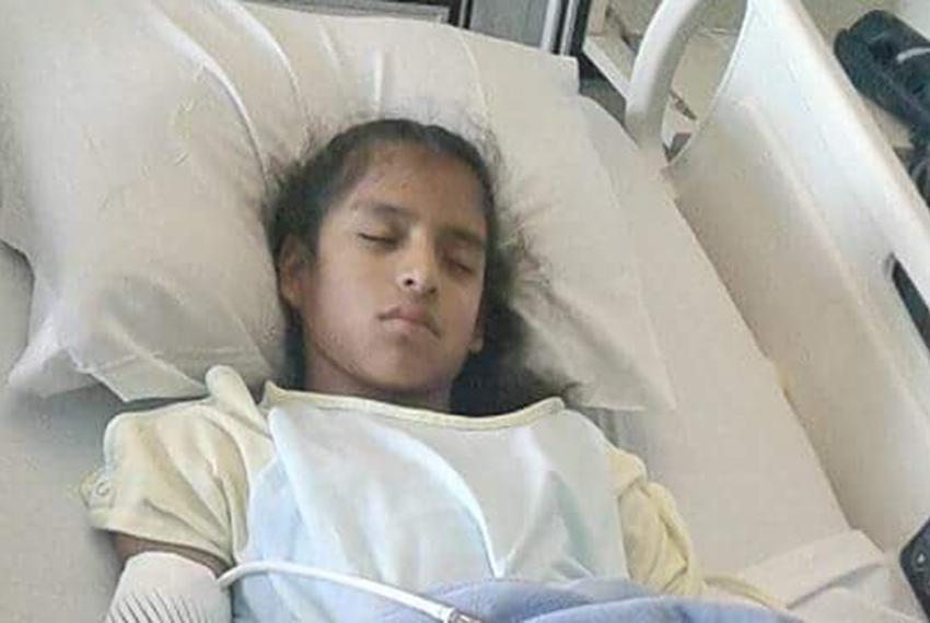 Rosa Maria Hernandez, an undocumented 10-year-old girl with cerebral palsy, was taken into custody by federal Customs and ...