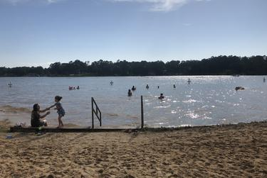 Lake Jacksonville was fully open for Memorial Day weekend after weeks of restrictions because of the coronavirus pandemic.