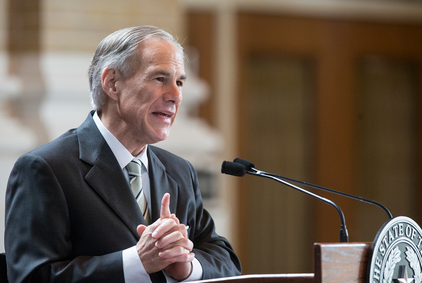 Texas Gov. Greg Abbott