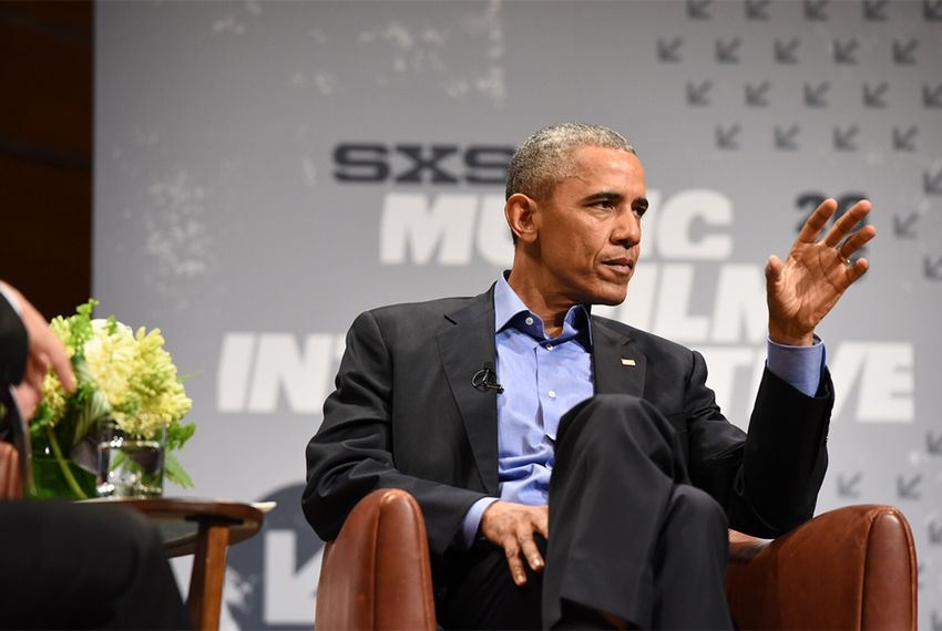 President Obama talked about civic engagement in a digital age during an interview with The Texas Tribune's Evan Smith at the South by Southwest Interactive festival on March 11, 2016.