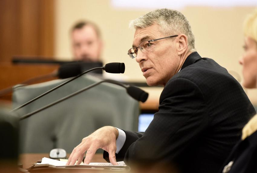 Texas Department of Public Safety, Steven McCraw testifies on staffing levels DPS border security effort, July 19, 2016.
