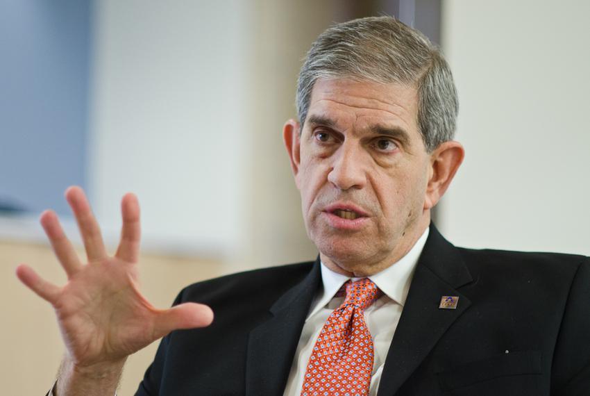 Jim Spaniolo, president of the University of Texas at Arlington.