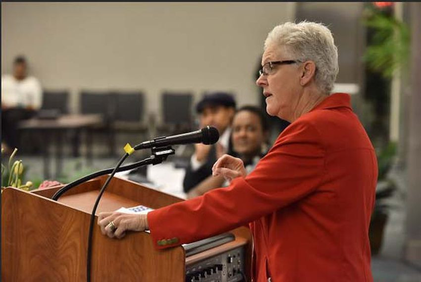 EPA head Gina McCarthy speaking recently in Atlanta, Georgia.