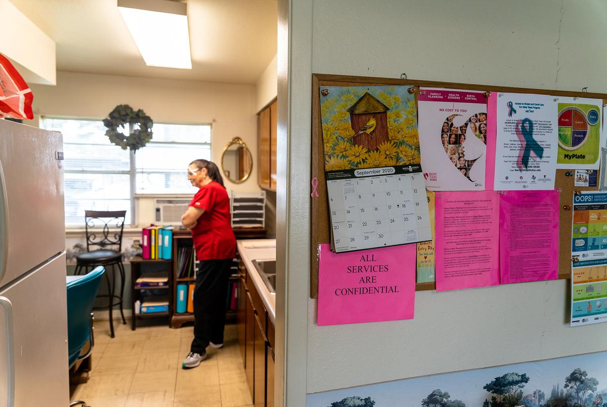 The Midway Family Planning clinic in Brownwood.