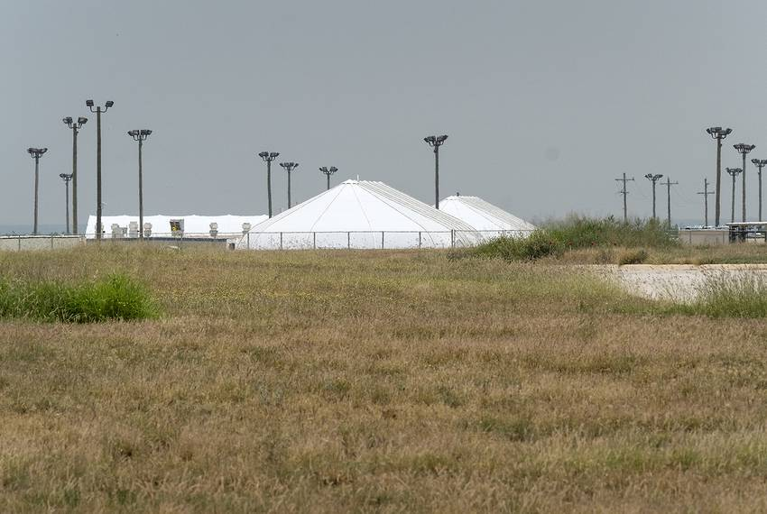 The South Texas Family Residential Center in Dilley is one of two family immigrant detention centers in Texas.