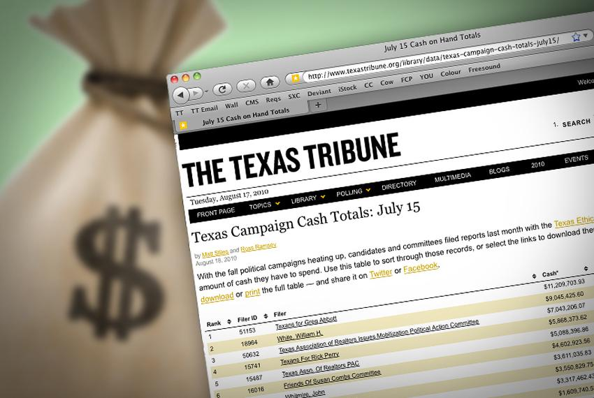 The 2,694 political committees and campaigns that filed mid-year reports with the Texas Ethics Commission together held $167…