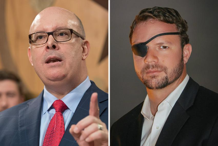 State Rep. Kevin Roberts, R-Houston, faces Dan Crenshaw in the Republican runoff for U.S. Congressional district 2, curren...