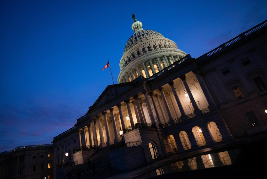 The U.S. Capitol Building in Washington, D.C., on Jan. 2, 2021.