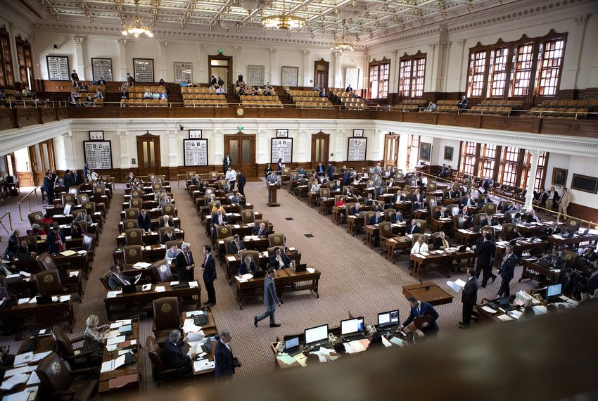 The floor of the house on April 11, 2019.
