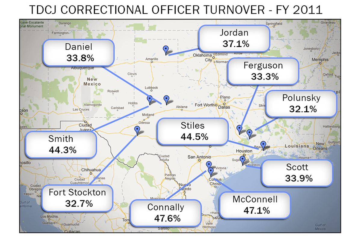 TDCJ Faces Ongoing Staffing Challenges | The Texas Tribune