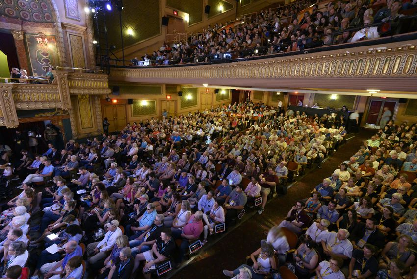 Large crowds turned out for The Texas Tribune Festival in Austin.