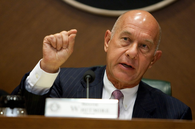 Sen. John Whitmire, D-Houston, chairman of the Texas Senate Committee on Criminal Justice, at a Sept. 4, 2012, hearing.