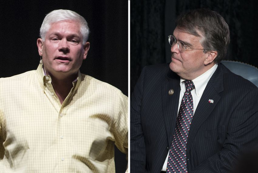 U.S. Reps. Pete Sessions, R-Dallas, and John Culberson, R-Houston.