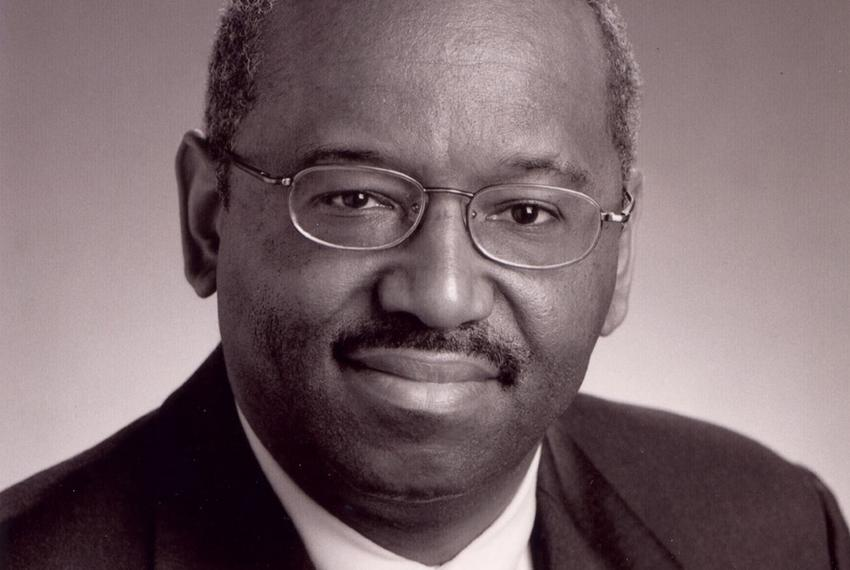 Prairie View A&M University President George C. Wright.