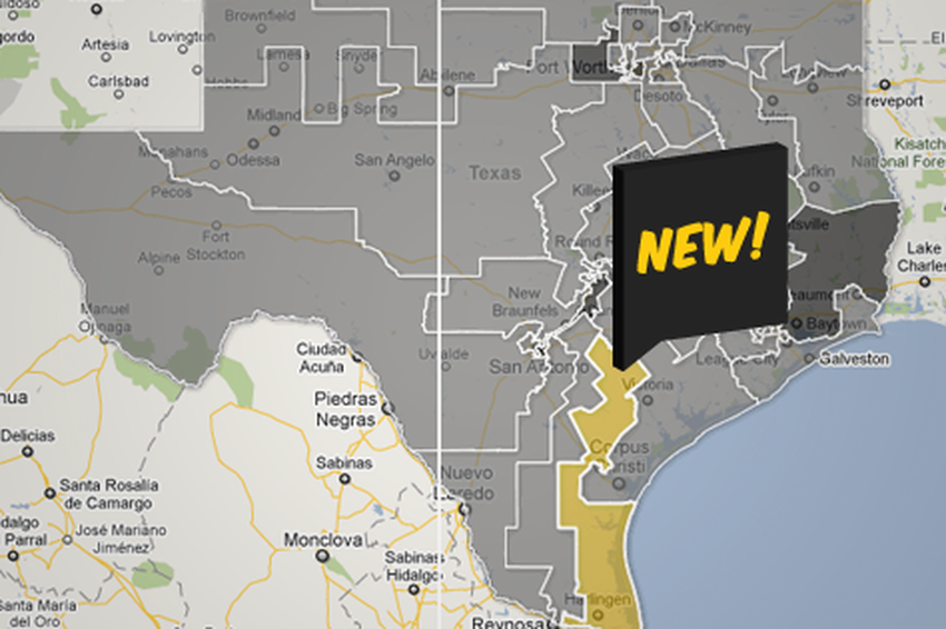 Interactive Lege S New Congressional Map