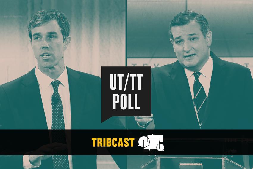 U.S. Rep. Beto O'Rourke, D-El Paso (left) and U.S. Sen. Ted Cruz.