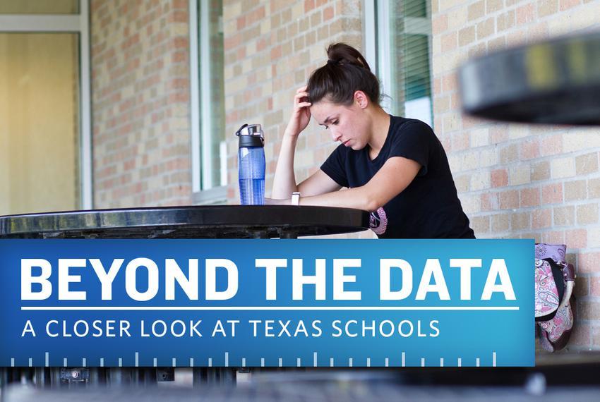 LVN program student Brittany Richmond studies at Austin Community College before class.