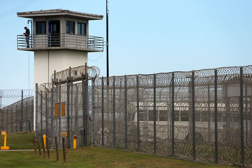 The William G. McConnell Prison Unit in Beeville, Texas.