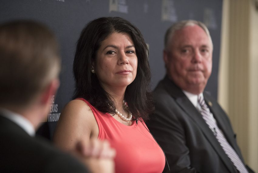 State Rep. Carol Alvarado, D-Houston, at a discussion of the impending special session hosted by The Texas Tribune on July 19, 2017.