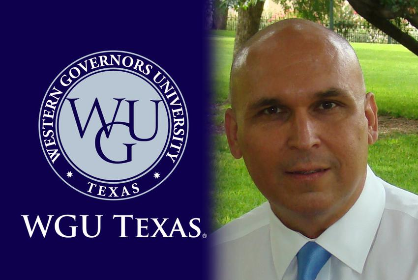 Ray Martinez,  chancellor of WGU-Texas.