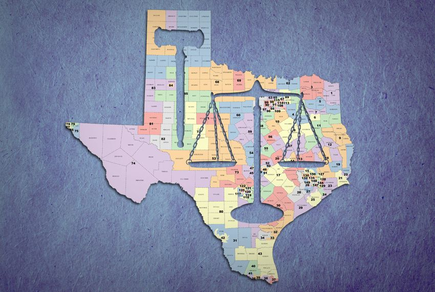 Trial Over Texas Political Maps Starts In San Antonio The Texas - Texas political map
