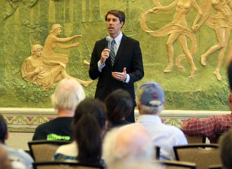 U.S. Rep. Beto O'Rourke, D-El Paso, spoke Tuesday, Sept. 3, during an El Paso town hall forum on whether the U.S. should take action against Syria.