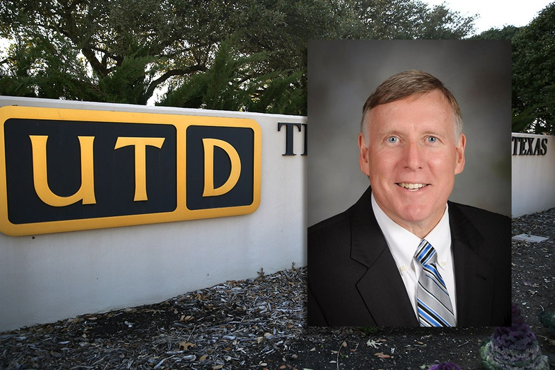 Richard Benson, the incoming president of the University of Texas-Dallas.