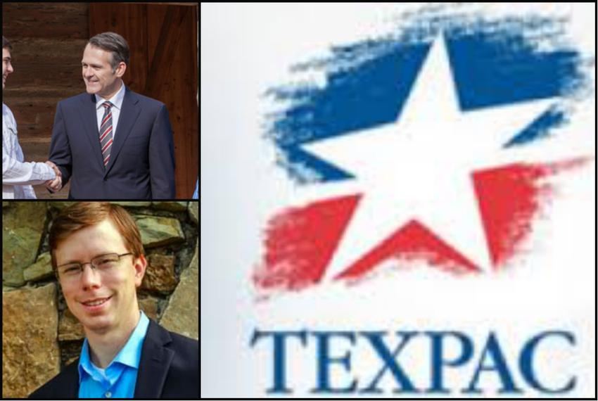 John Wray (top) and Will Metcalf, endorsed by Texas Medical Association PAC.