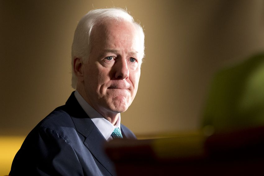 U.S. Sen. John Cornyn during a 2014 Texas Tribune Festival interview.