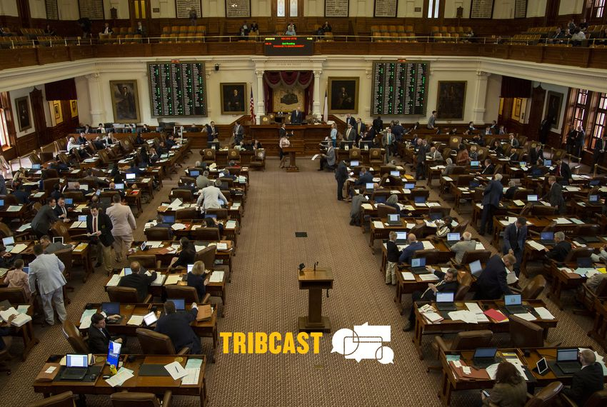 The Texas House floor.