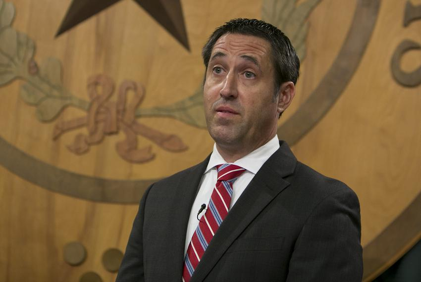 Texas Comptroller Glenn Hegar announces his office has picked a private vendor to run the Texas Bullion Depository, which wi…