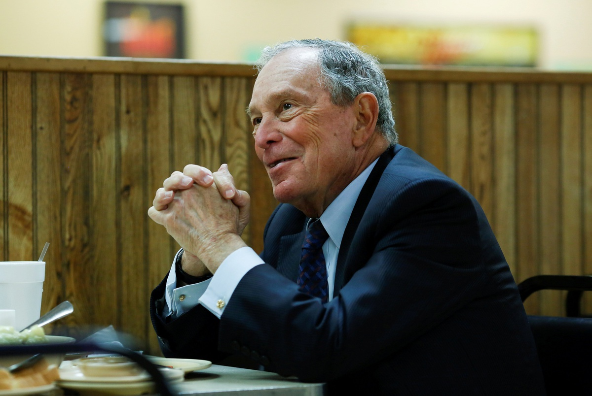 Michael Bloomberg files paperwork to get on the Texas primary ballot