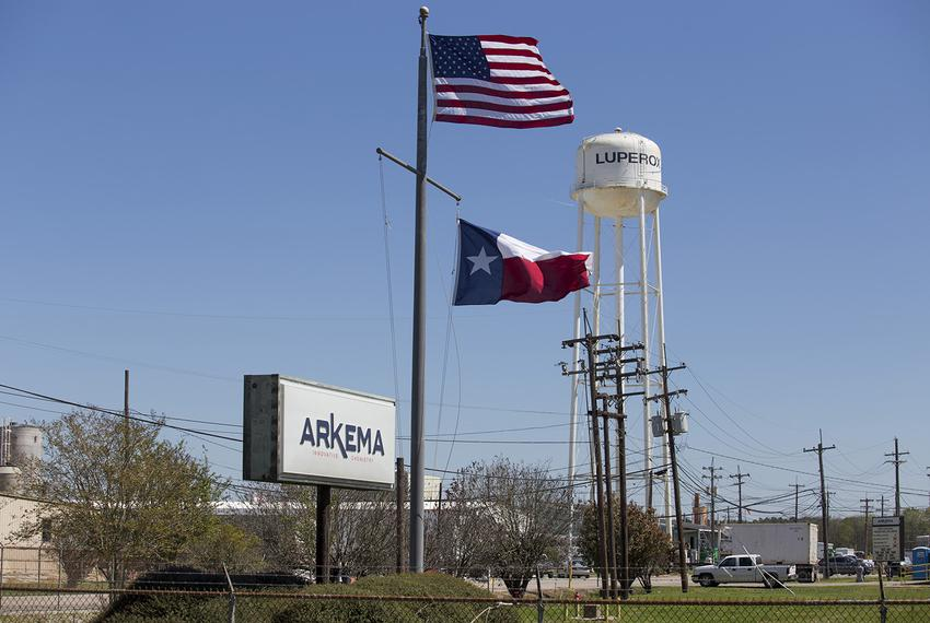 The Arkema chemical plant in Crosby, where a pressure release after a power failure during Hurricane Harvey caused an evacua…