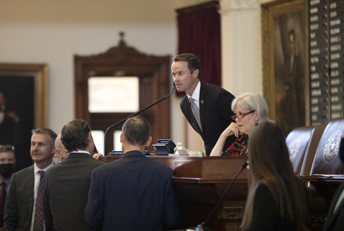 House Speaker Dade Phalen on the House floor on May 5, 2021.