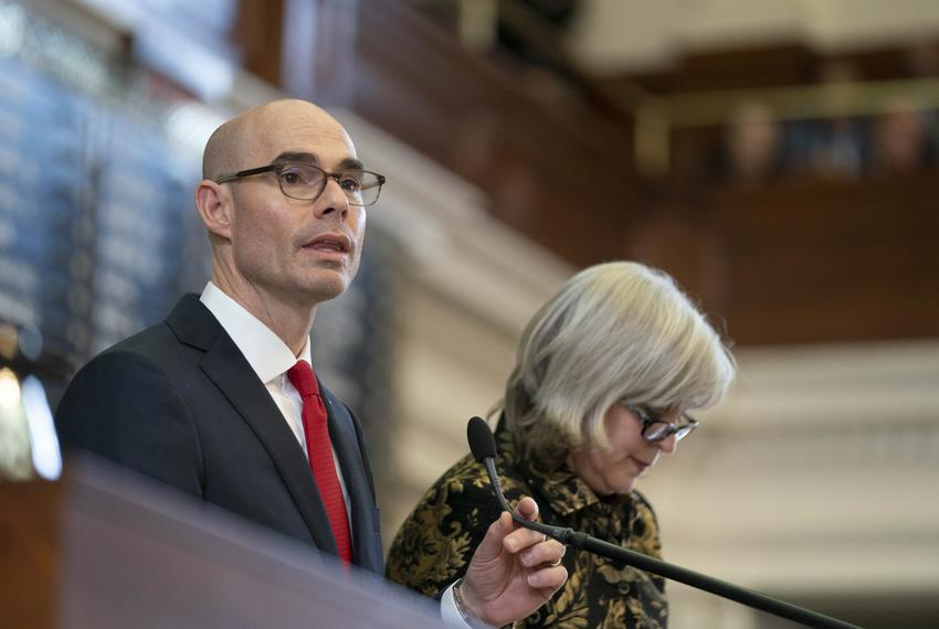 Opening Day of the 86th session of the Texas Legislature with action in the Texas House 