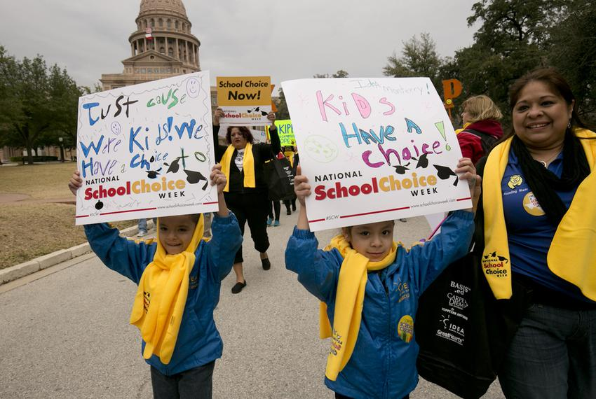 National School Choice rally in Austin on January 30th, 2015