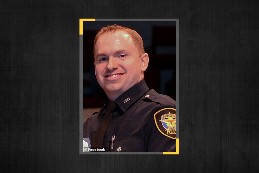 Former Fort Worth police officer Aaron Dean.